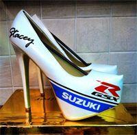Suzuki Gsxr style high heels