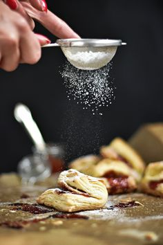 Kiflice Recipe, Dessert Recipes, Desserts, Food And Drinks, Tailgate Desserts, Deserts, Postres, Dessert, Desert Recipes