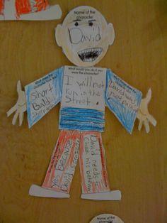 David - Characterization First Grade