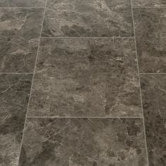 Floorgrip 95 Rapallo Dark Marble Tile Effect Vinyl Flooring