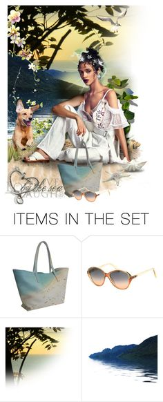 """""""Ain't Life a Beach!"""" by incogneato ❤ liked on Polyvore featuring art"""
