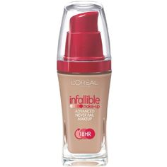 L'Oreal Paris Infallible Advanced Never Fail Makeup, Creamy Natural, 1.0 Ounces ** See this great product. (This is an affiliate link) #Makeup