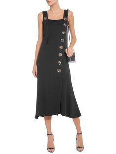 Vestido Midi Botões - '2Essential - Preto  - Shop2gether