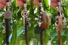 Dreadperle / Dreadlocksperle Silber Dreads, Plant Hanger, Etsy, Plants, Decor, Rhinestones, Beads, Silver, Dreadlocks
