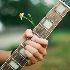 Flower in strings