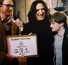 Behind the scenes of Harry Potter - Album on Imgur