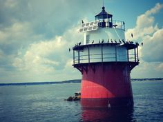 Plymouth Lighthouse by Amy Duquette