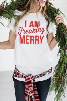 Freaking Merry Tee
