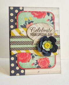 Because it's fun to create...: SOS #13 In love with Crate Paper - Flea Market