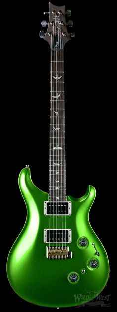 PRS Paul Reed Smith P24 Calypso Metallic Green -- THIS! greens and grey and black.  #LGLimitlessDesign  #Contest