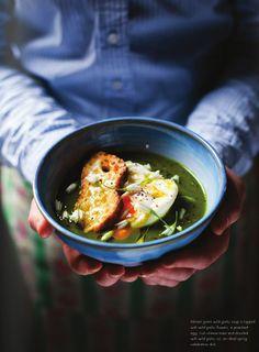 Feast | A Dinner Journal | Wild Garlic Soup