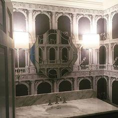Fornasetti wallpaper for Cole and Son * Wonderwall * The Inner Interiorista