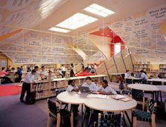 And another library design  . . . anyone know of an interior architect looking for a pro bono project?