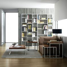 Valsa Bookcase 005 by Temahome - White http://www.nuastyle.com/bookcases-shelves/835-valsa-bookcase-by-temahome.html