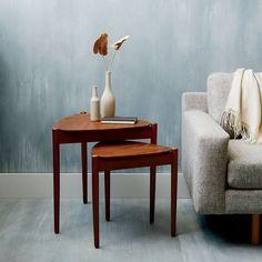 Retro Tripod Nesting Tables Retro Furniture, Sofa Furniture, Living Room Furniture, Furniture Design, Space Furniture, White Furniture, Plywood Furniture, Pallet Furniture, Office Furniture