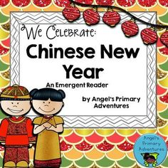 Chinese New Year Emergent Reader from Angel's Primary Adventures on TeachersNotebook.com -  (33 pages)  - A fun emergent reader for Chinese New Year!