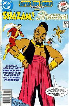 Super-Team Family: The Lost Issues!: Shazam and Shazzan