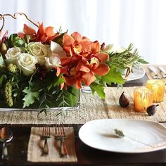 Winston Flowers' Thanksgiving Collection captures the brilliant colors of autumn and the bounty of harvest.