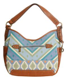 Love this Blue Kingston Hobo by b.o.c on #zulily! #zulilyfinds