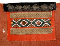 Brystduk @ DigitaltMuseum.no Scandinavian Embroidery, Norway, Costumes, Beadwork, Belts, How To Make, Ideas, Traditional, Dress Up Clothes