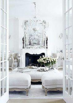 Living in white.  TG Uploaded to Pinterest