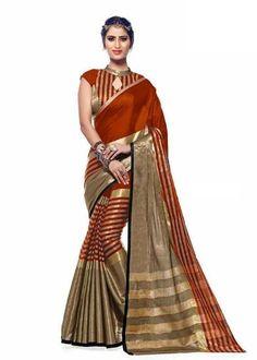Get range of designer cotton sarees and pure cotton sarees online at amazing prices. Woven Cotton Saree in Shaded Orange Cotton Saree Woven Online at vetrokart.com.