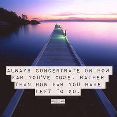 How far you go...