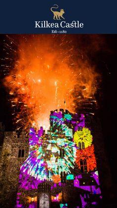 Now that's a fireworks display! #luxurywedding #castlewedding #wedding #irishwedding #grooms #hesaidyes #weddingfireworks