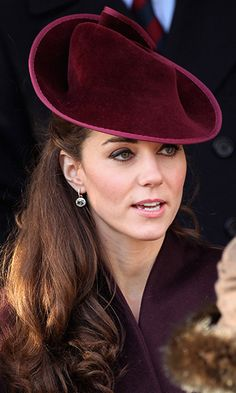 Kate is also often spotted wearing diamond-and-green amethyst drop earrings set in 18-carat gold by Kiki McDonough. She debuted these for her first Christmas with the Royal Family at Sandringham in 2011. The earrings were originally available in citrine on the designer's website and are believed to have been customized especially for Kate, ordered by Prince William as a gift for his new bride. Kiki also made jewelry for Princess Diana.