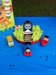 Thomas the train table centerpiece created by me