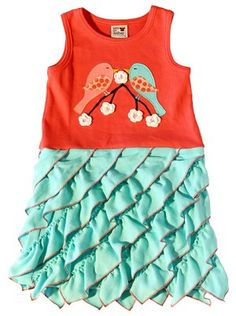 Sam and Sydney Spring Has Sprung Applique Dress Spring 2013 Sewing Ruffles, Ruffle Fabric, Girls Boutique, Boutique Clothing, Little Girl Outfits, Applique Dress, Spring Has Sprung, Spring Dresses, Dress P
