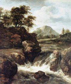 Ein-Wasserfall-von-Jacob-van-Ruisdael-14257.jpg (900×1068)