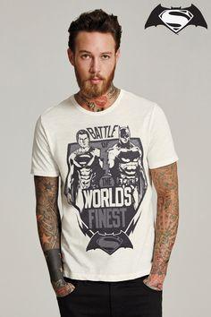 Buy Ecru Batman® V's Superman® T-Shirt from the Next UK online shop BatmanvSuperman