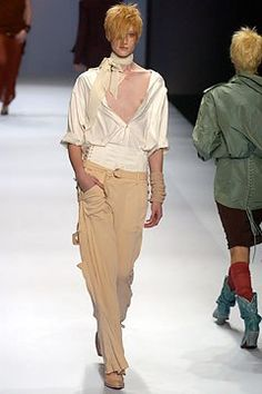 Jean Paul Gaultier Spring 2004 Ready-to-Wear Fashion Show - Jean Paul Gaultier, Jade Parfitt