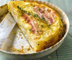 Découvrez la recette gourmande de la quiche au lard façon tatin, proposée par le chef Cyril Lignac. Rapide et facile à faire.