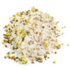 Elbstrand (Nachfüllpack) | 200g einer perfekten Würzmischung für Liebhaber der orientalischen Küche. Unser Nachfüllpack für die Mühle! Zutaten: Meersalz (67%), Goldperlen (Zucker, Stärke (WEIZEN/Mais), Überzugsmittel: Schellack, Farbstoff: E100, E174, Glukosesirup, Gelatine), weißer Pfeffer, SENFsaat, Bockshornkleesaat, Coriansersaat, Cumin.