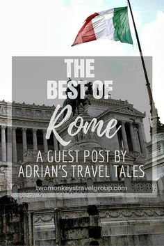 Rome is a wondrous place with thousands of nooks and crannies to check out, in addition to the hundreds of churches, monuments and historical locations. It can be overwhelming for those that first visit to try to see everything.