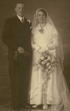 Hendrikus Adrianus Wilhelmus  (Henk) Overdevest en  Engelina Agnes Jacoba (Lien) Niersman 22-11-1933