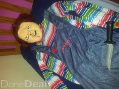 Halloween chuckie custume for sale on DoneDeal.ie - €50