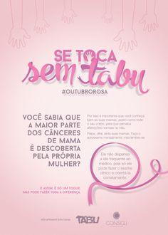 Campanha interna de conscientização sobre o câncer de mama.
