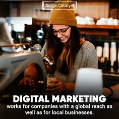 How Digital Marketing Can Help Your Local Business Grow. Here are some ways digital marketing can help your local business grow. Tap the link from our bio! Marketing Words, Digital Marketing Strategy, Online Marketing, Competitor Analysis, Search Engine Optimization, Online Business, Seo, Entrepreneur, Success