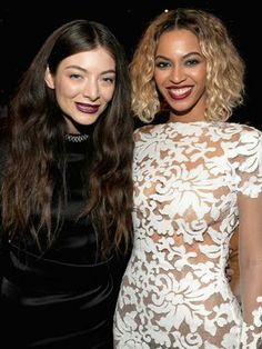 The Grammy's - Lorde and Beyonce