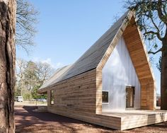 Wolfson Tree Management Centre Mess Building / Invisible Studio: