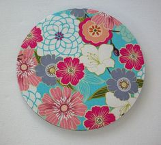 Flowers floral mouse pad, like, you design your own on snapmade.com.