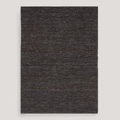 One of my favorite discoveries at WorldMarket.com: Gray Deca Flat-Woven Jute Rug