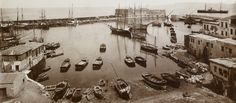 The port of Heraklion, (A. Heraklion, Old Maps, Crete, Vintage Photos, The Past, Museum, Places, Evans, Oxford