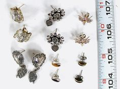 6 Pairs Post Earrings BBE68