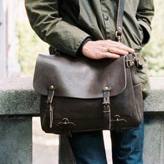 Sac postier Eclair - Postman bag Eclair. Bleu de Chauffe. Made in France #satchel #bag