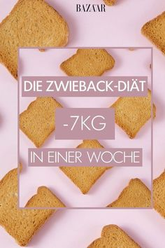 Mit der Zwieback-Diät abnehmen: 7 Kilo in 7 Tagen Rusk packs consist of about 900 calories and 74 grams of carbohydrates. Still, you should lose with a 7 pound rusk diet in a week. Sounds strange when low carbs. Fitness Nutrition, Health Diet, Health And Nutrition, Best Diet Drinks, Menu Dieta, Diet Planner, Le Diner, Fiber Foods, Calories