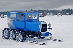 Model A snow machine mobile